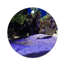 Seahorse Pair Ornament (Round)