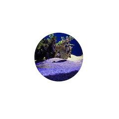 Seahorse Pair Mini Button
