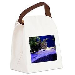 Seahorse Pair Canvas Lunch Bag