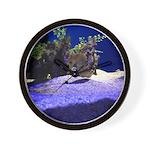 Seahorse Pair Wall Clock