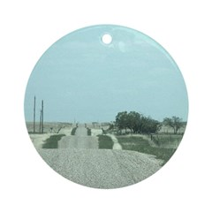 On the Road Ornament (Round)