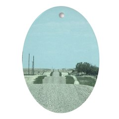 On the Road Ornament (Oval)