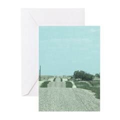 On the Road Greeting Cards
