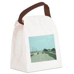 On the Road Canvas Lunch Bag