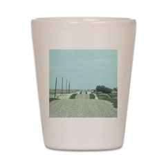 On the Road Shot Glass