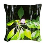 Under the Waterfall Woven Throw Pillow