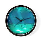 Fishy Conversation Wall Clock