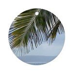 Palm Frond Ornament (Round)