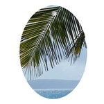 Palm Frond Ornament (Oval)