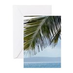 Palm Frond Greeting Cards