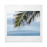 Palm Frond Queen Duvet