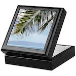 Palm Frond Keepsake Box