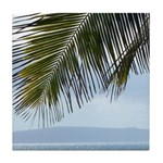 Palm Frond Tile Coaster