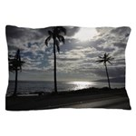 Palm Tree Evening Pillow Case