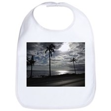 Palm Tree Evening Bib