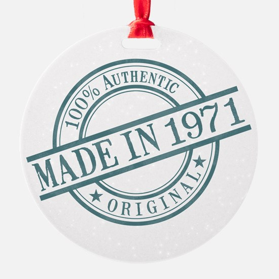 Made in 1971 Ornament