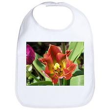 Flaming Tulip Bib