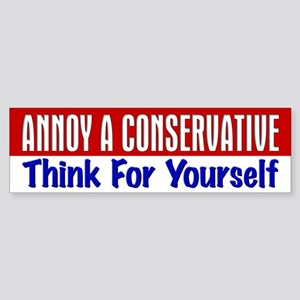 AAC Think For Yourself Bumper Sticker