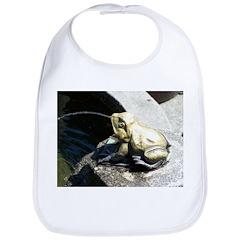 Frog Fountain Bib