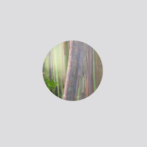 Rainbow Eucalyptus Tree Mini Button