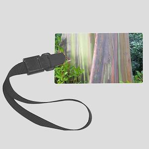 Rainbow Eucalyptus Tree Large Luggage Tag
