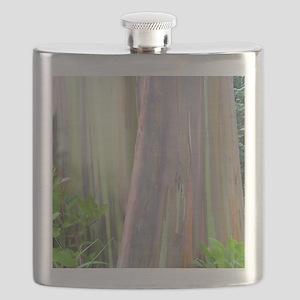 Rainbow Eucalyptus Tree Flask