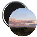 Prairie Summer Sunset Magnets