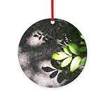 Leaf Shadow Ornament (Round)