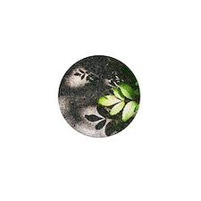 Leaf Shadow Mini Button