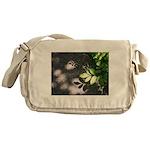 Leaf Shadow Messenger Bag