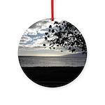 Seaside Tree Ornament (Round)