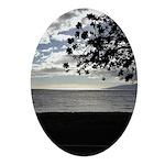 Seaside Tree Ornament (Oval)