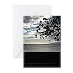 Seaside Tree Greeting Cards