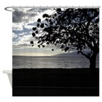 Seaside Tree Shower Curtain