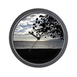 Seaside Tree Wall Clock