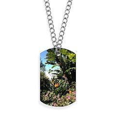 Tropical Gardens on Maui Dog Tags