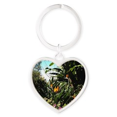 Tropical Gardens on Maui Keychains