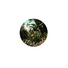 Tropical Gardens on Maui Mini Button (100 pack)