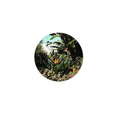 Tropical Gardens on Maui Mini Button