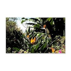 Tropical Gardens on Maui Decal Wall Sticker