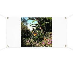 Tropical Gardens on Maui Banner