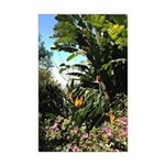 Tropical Gardens on Maui Poster Print