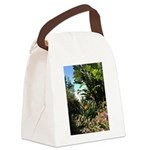 Tropical Gardens on Maui Canvas Lunch Bag