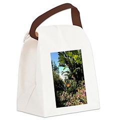 Tropical Gardens on Maui Canvas Lunch Bag