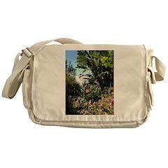 Tropical Gardens on Maui Messenger Bag