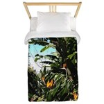 Tropical Gardens on Maui Twin Duvet