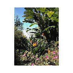 Tropical Gardens on Maui Twin Duvet