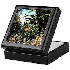 Tropical Gardens on Maui Keepsake Box