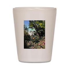 Tropical Gardens on Maui Shot Glass