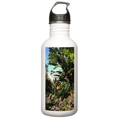 Tropical Gardens on Maui Water Bottle